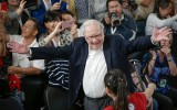 Warren Buffett in actie