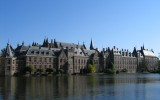 Hofvijver met het Binnenhof