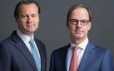 Foto De Vlugt (L) & Estourgie (R) van EValuation Capital