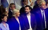 Geert Wilders met zijn Europese geloofsgenoten
