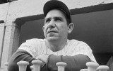 Yogi Berra in 1964 als manager van de Yankees