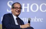 Minister van Financiën Giovanni Tria