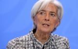 Directeur Christine Lagarde van het IMF