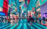 Straatbeeld Tokio, Japan