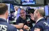Uitgelaten stemming op Wall Street