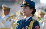 Chinese militaire parade
