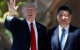 Donald Trump ontvangt XI Jinping in de VS