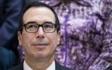 Minister van Financiën Steven Mnuchin