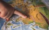 China op de wereldkaart