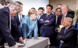 G7-leiders met Donald Trump