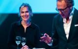 Fondsevent 2015, met Betine Vriesenkoop en Rens de Jong (rechts)