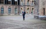 Mark Rutte op het Binnenhof