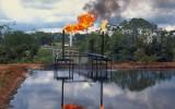 Oliewinning in het amazonegebied