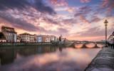 Florence bij zonsopgang