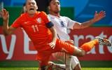 Tackle op Arjan Robben