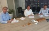 Today's Group, v.l.n.r. Frits Vogel, Cees Smit, Gijsbrecht van Dommelen